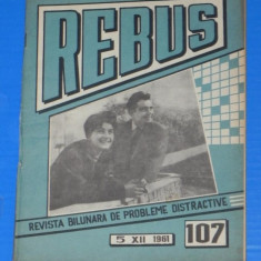 REVISTA REBUS 1961 NR 107 - NECOMPLETATA (00504
