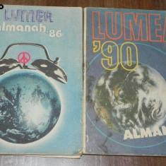 Lot 2 almanahuri ALMANAH LUMEA 1986, 1990