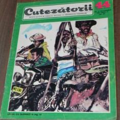 REVISTA CUTEZATORII 1968 - NR 44 - BANDA DESENATA GAGARIN, LACUL CU ELEFANTI