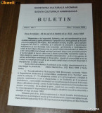 BULETIN SOCIETATEA CULTURALA AROMANA ANUL 1 NR 3 2000. aromani
