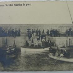4 - CONSTANTA - SERBARI NAUTICE IN PORT - Carte Postala Dobrogea 1904-1918, Necirculata, Fotografie