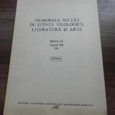 ALEXANDRU DOBRE - FOCLOR SI ETNOGRAFIE IN PREOCUPARILE LUI IOAN BIANU I - extras, Alta editura