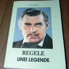 JOHN NASTASE - REGELE UNEI LEGENDE. CLARK GABLE (75643 - Carte Cinematografie