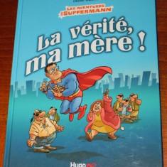 Benzi desenate Franta - HUGO BD - OLIVIER RANSON - LES AVENTURES DE SUPFERMANN - Reviste benzi desenate Altele