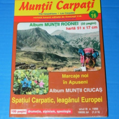 REVISTA MUNTII CARPATI - NR 16 - 1999 - MUNTII RODNEI - Carte Geografie