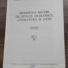 ALEXANDRU DOBRE - TIMOTEI CIPARIU LA ACADEMIA ROMANA extras - Carte folclor