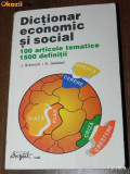 J BREMOND, A GELEDAN - DICTIONAR ECONOMIC SI SOCIAL, Alta editura
