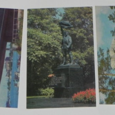 Lot 3 CARTI POSTALE KIEV UCRAINA URSS. NECIRCULATE. ilustrate. vederi, Necirculata, Printata