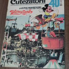 REVISTA CUTEZATORII 1970 - NR 40