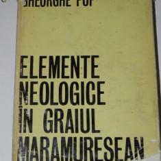 GHEORGHE POP - ELEMENTE NEOLOGICE IN GRAIUL MARAMURESEAN