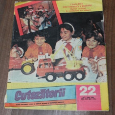 REVISTA CUTEZATORII 1989 - NR 22