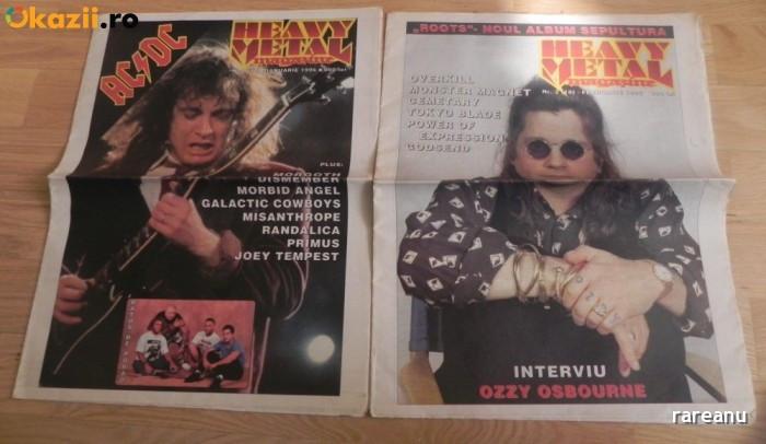 LOT 3 NUMERE HEAVY METAL MAGAZINE - 1, 2 / 1996, 3/1997