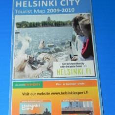 HARTA turistica a ORASULUI HELSINKI 2009-2010