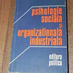 MIELU ZLATE - PSIHOLOGIE SOCIALA SI ORGANIZATIONALA INDUSTRIALA - Carte Psihologie