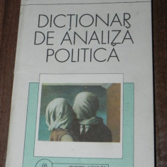 JACK C PLANO, ROBERT E RIGGS, HELENAN S ROBIN - DICTIONAR DE ANALIZA POLITICA