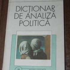 JACK C PLANO, ROBERT E RIGGS, HELENAN S ROBIN - DICTIONAR DE ANALIZA POLITICA - Carte Politica
