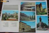 Mapa cu 10 CARTI POSTALE BAKU AZERBAIDJAN URSS. 1985 NECIRCULATE  vederi, Rusia, Necirculata, Printata