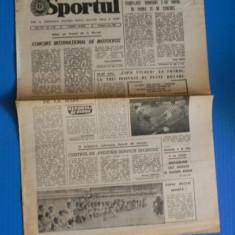 ZIARUL SPORTUL 9 IULIE 1988 - Flacara Moreni, F C Bihor, Dudu Georgescu (01043