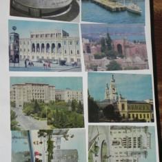 LOT 8 CARTI POSTALE BAKU AZERBAIDJAN URSS. 1985 NECIRCULATE. ilustrate. vederi, Necirculata, Printata