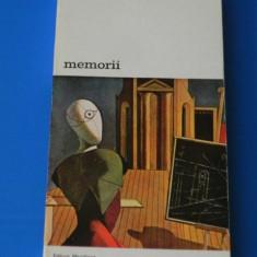 GIORGIO DE CHIRICO - MEMORII - Carte Istoria artei