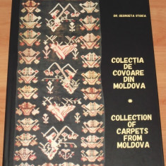 COLECTIA DE COVOARE DIN MOLDOVA / Collection of Carpets from Moldova - Carte Arta populara
