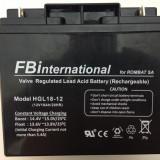 Acumulator etans 12V-18Ah cu gel si plumb VRLA pentru UPS si alarma etc