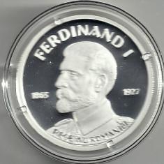 ROMANIA 10 LEI 2015 150 Ani - Nasterea REGELUI FERDINAND I, cert BNR PROOF - Moneda Romania, Argint