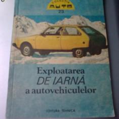 M. STRATULAT - EXPLOATAREA DE IARNA A AUTOMOBILULUI - Carti auto