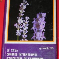 APIMONDIA. LE XXVEME CONGRES INTERNATIONAL D APICULTURE. GRENOBLE 1975