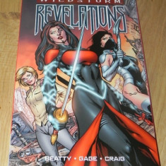 Dc COMICS REVISTA BENZI DESENATE ENGLEZA WILDSTORM REVELATIONS BEATY gage CRAIG - Reviste benzi desenate Altele