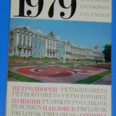 CALENDAR 1979 LENINGRAD (01014 - Calendar colectie