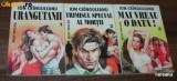 3 ROMANE DE DRAGOSTE SERIA TRIUNGHIUL MERBUDE - ION CRINGULEANU / CRANGULEANU - URANGUTANII // TRIMISUL SPECIAL AL MORII // MAI VREAU O DATA!