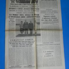 ZIARUL ROMANIA LIBERA 16 MAI - GROMIKO INCHEIE VIZITA LA CEAUSESCU 1988 (01089