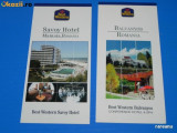LOT 2 RECLAME HOTELURI BEST WESTERN SAVOY, BALVANYOS,