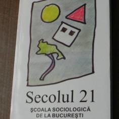 REVISTA SECOLUL 21 XXI SPECIAL SCOALA SOCIOLOGICA DE LA BUCURESTI dimitrie gusti - Carte Sociologie