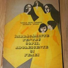 Natalia Tautu-Stanescu G Stoian IMBRACAMINTE PENTRU COPII, ADOLESCENTE SI FEMEI