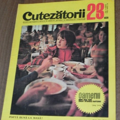 REVISTA CUTEZATORII 1970 - NR 23
