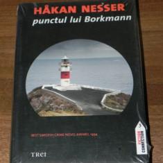 HAKAN NESSER - PUNCTUL LUI BORKMANN. Carte noua. - Carte politiste