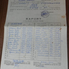 De colectie fobal RAPORT / foaie ARBITRAJ 1978 ENERGOCONSTRUCTOR - FEA BUCURESTI