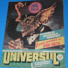 UNIVERSUL COPIILOR -1991 - 35-36 - SPECIAL HORROR - Reviste benzi desenate