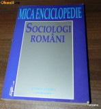 STEFAN COSTEA (COORD) - MICA ENCICLOPEDIE DE SOCIOLOGI ROMANI. dictionar, Alta editura
