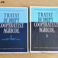 S BRADEANU, P MARICA, L STANGU - TRATAT DE DREPT COOPERATIST-AGRICOL VOL 1-2 - Carte Legislatie