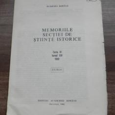 SOCIETATEA ACADEMICA ROMANA - iNSTITUIREA UNUI SISTEM ORTOGRAFIC extras, Alta editura