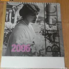 De colectie. CALENDAR BIROU 2006. BALCIC. PRINCIPESA / REGINA MARIA - Calendar colectie