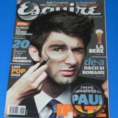 ESQUIRE - REVISTA PENTRU BARBATI - NR 28 - IULIE AUGUST 2010 (00615 - Revista barbati