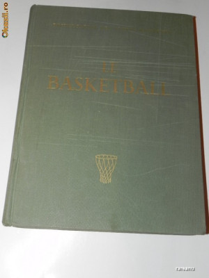 baschet. BASKETBALL. ENCYCLOPEDIE DES SPORTS MODERNES BASKETBALL. VOL 2 foto