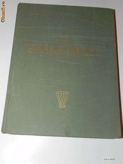 baschet. BASKETBALL. ENCYCLOPEDIE DES SPORTS MODERNES BASKETBALL. VOL 2 foto mare