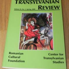 TRANSYLVANIAN REVIEW NR 1 / 2000 - Revista culturale