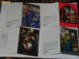 Lot 6 felicitari  UNICEF  PICTURA RELIGIOASA SCOALA FRANCEZA SPANIOLA GERMANA, Circulata, Printata