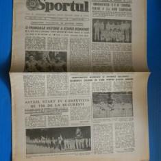 ZIARUL SPORTUL 1 IULIE 1988 universitatea cfr craiova campioana la volei (01039